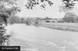 Lazonby, The River And Bridge c.1965
