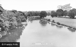 Lazonby, The River c.1965