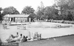 Lazonby, The Swimming Pool c.1960