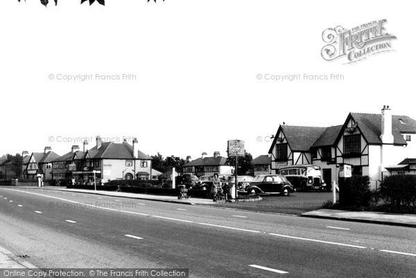 Photo of Lea, Blackpool Road c1955