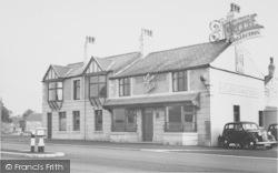 The Plough Hotel c.1955, Lea