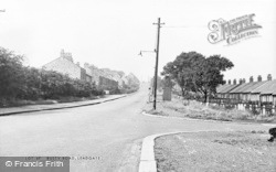 Busty Road c.1955, Leadgate