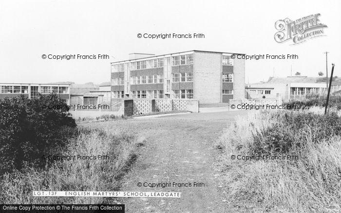 Photo of Leadgate, English Martyr's School c.1960