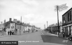 Front Street c.1955, Leadgate