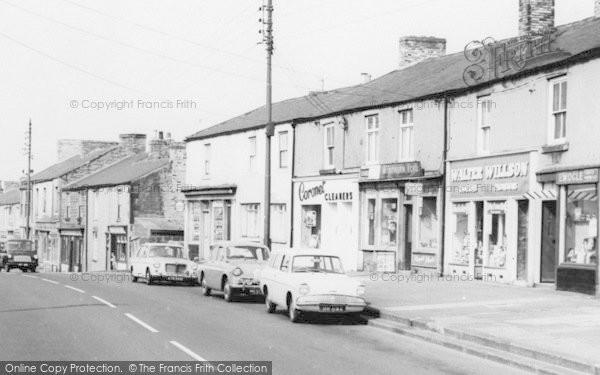 Photo of Leadgate, Front Street Shops c.1960