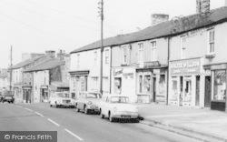 Front Street Shops c.1960, Leadgate