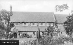 St Ive's Church c.1955, Leadgate