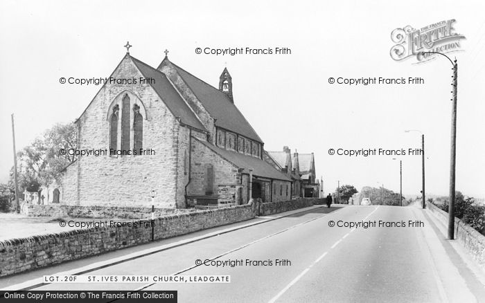 Photo of Leadgate, St Ive's Parish Church c.1960
