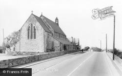 St Ive's Parish Church c.1960, Leadgate