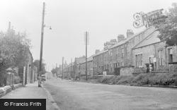 St Ives Road c.1955, Leadgate
