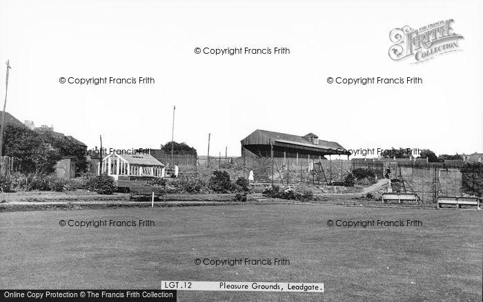 Photo of Leadgate, The Pleasure Grounds c.1960