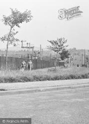 Walking Beside The Railway c.1955, Leadgate