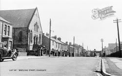 Watling Street c.1955, Leadgate