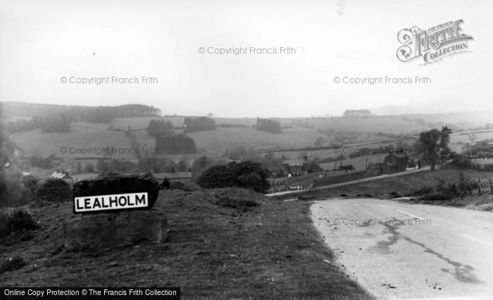 Photo of Lealholm, General View c.1960