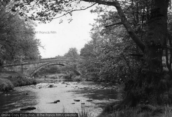 Photo of Lealholm, The River c.1960
