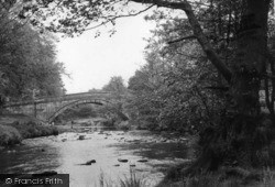 Lealholm, The River c.1960