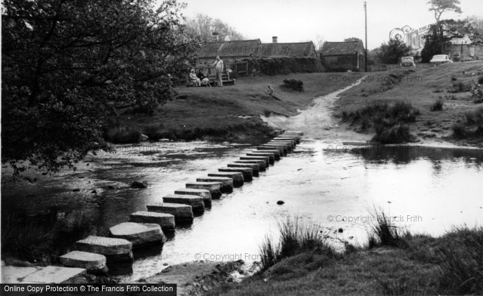Photo of Lealholm, The Stepping Stones c.1960