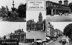 Leamington Spa, Composite c.1955