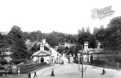 Leamington Spa, Entrance To Jephson Gardens 1922