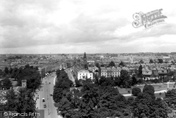 Leamington Spa, From The Tower Of All Saints 1922