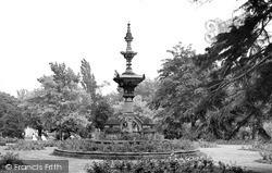 Leamington Spa, Jephson Gardens c.1955