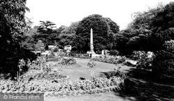 Leamington Spa, Jephson Gardens c.1960