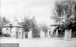 Leamington Spa, Jephson Gardens Entrance 1892