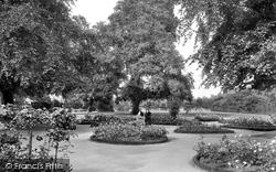 Leamington Spa, Jephson Gardens, Rose Garden 1922