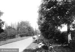 Leamington Spa, New River Walk 1892