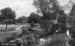 Leamington Spa, Royal Pump Room Gardens 1922