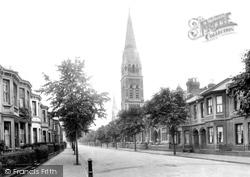 Leamington Spa, St Paul's Church 1922