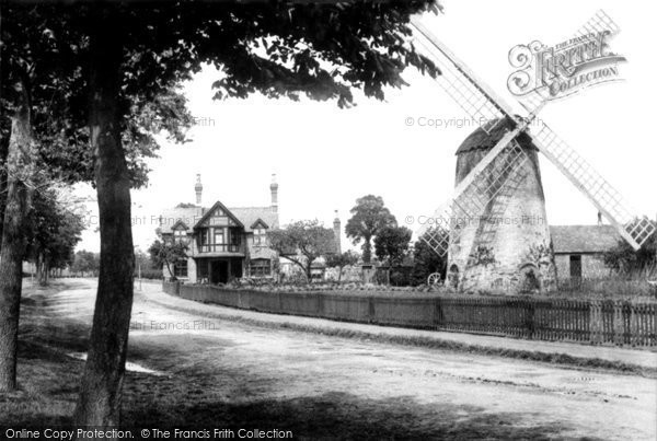 Leamington Spa, Tachbrook Road Windmill 1892