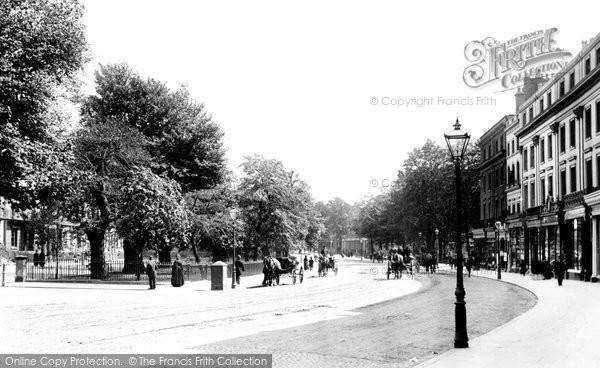Photo of Leamington Spa, The Parade 1892