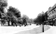 Leamington Spa, the Parade 1892
