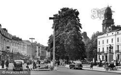 Leamington Spa, The Parade 1952