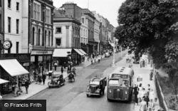 Leamington Spa, The Parade c.1950