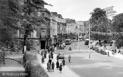 Leamington Spa, The Parade c.1955