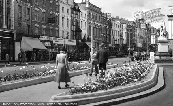 Photo of Leamington Spa, The Parade c.1955