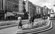 Leamington Spa, the Parade c1955