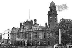 Leamington Spa, The Town Hall c.1955