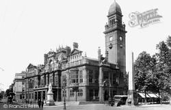 Leamington Spa, Town Hall 1922