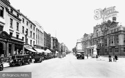 Leamington Spa, Town Hall And Parade 1932