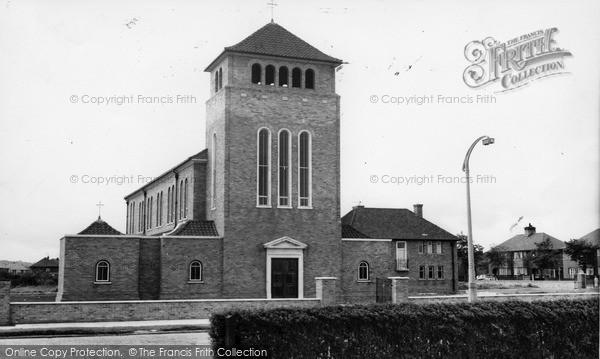 Photo of Leasowe, Catholic Church c.1965