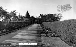 Leasowe, Drive And Entrance To The Castle c.1958
