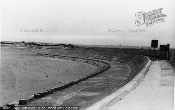 Photo of Leasowe, The Bathing Cove c.1955