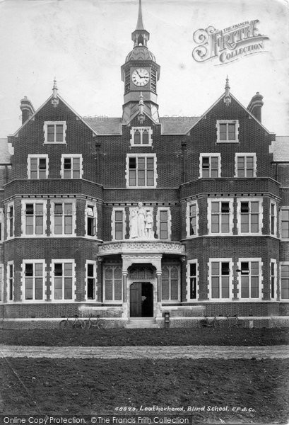 Photo of Leatherhead, Blind School 1902