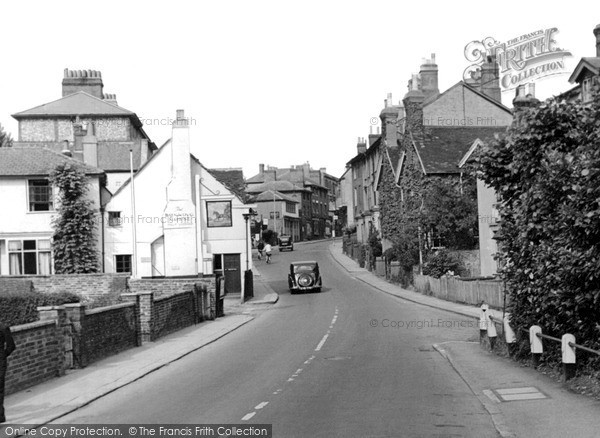 Photo of Leatherhead, Bridge Street c.1950