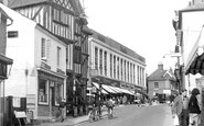 Leatherhead, Bridge Street c1955