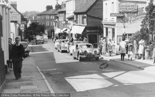 Photo of Leatherhead, Bridge Street c.1965