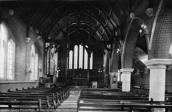 Photo of Leatherhead, Church Interior 1909